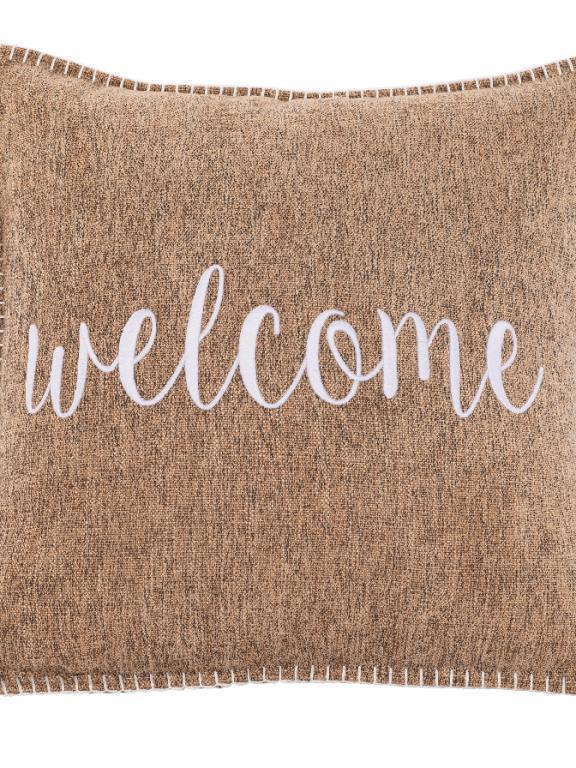 kussen sand 'welcome'