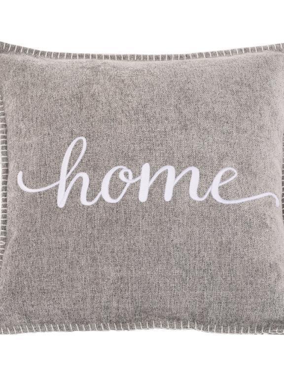 kussen greylight 'home'