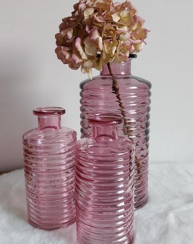 bottle  line soft pink large