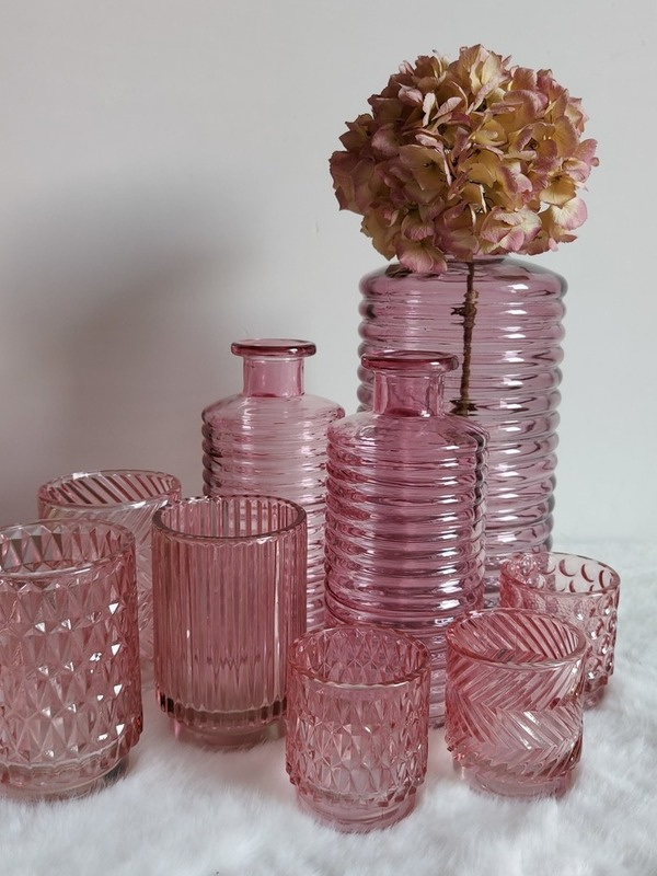 bottle line soft pink pink small