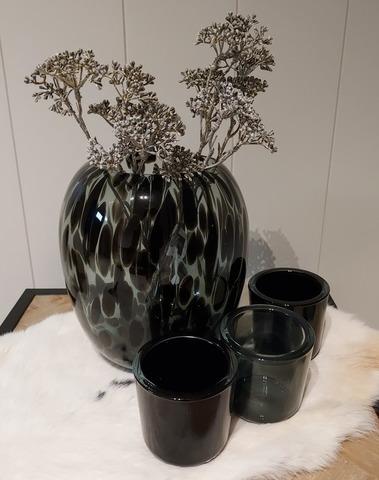 theelicht glas dark grey
