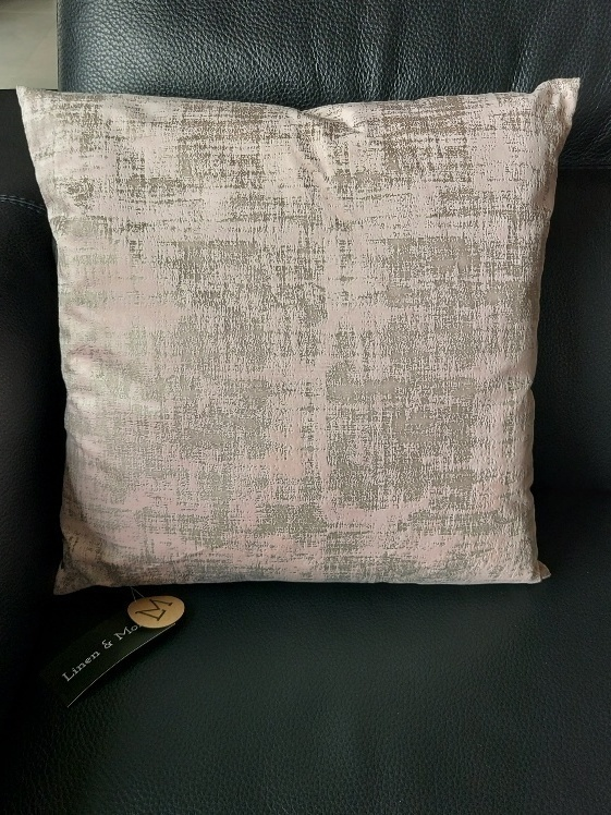 kussen 50x50cm vintage velvet soft pink